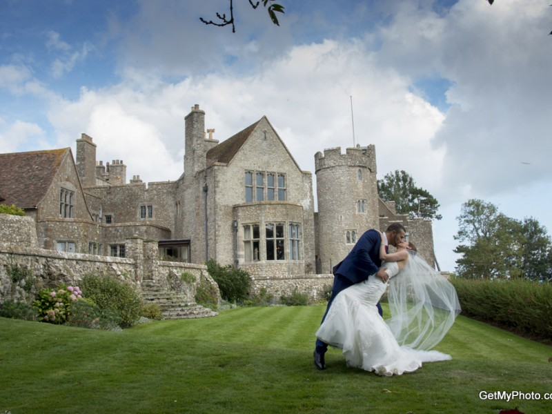 Wedding Photographer Lympne castle Kent